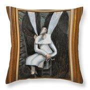 Dennice - Framed Throw Pillow