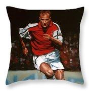 Dennis Bergkamp Throw Pillow