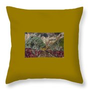 Dense Cloudy Weather Throw Pillow