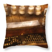Dentist - Detachable Tooth Shade Guide  Throw Pillow