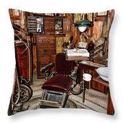Dentist - The Dentist Chair Throw Pillow