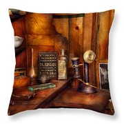 Dentist - Time For Your Next Appointment  Throw Pillow by Mike Savad