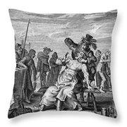 Dentistry, 18th Century Throw Pillow