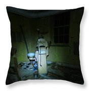 Dentists Chair Throw Pillow