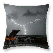 Denver Airport Throw Pillow