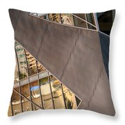 Denver Diagonals Throw Pillow