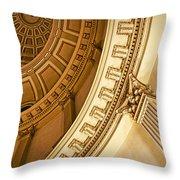 Denver Dome Detail Throw Pillow