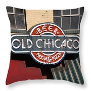 Denver - Old Chicago Beer Throw Pillow