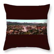 Denver Panorama 1897 Throw Pillow