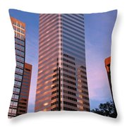 Denver Skyscraper Throw Pillow