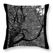 Denver Tree Fx Throw Pillow