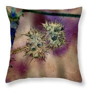 Depoded Throw Pillow