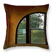 Depot Window Throw Pillow