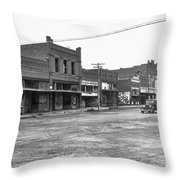 Depression & Drought, 1938 Throw Pillow