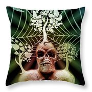 Depression 3 Throw Pillow