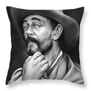 Deputy Festus Haggen Throw Pillow