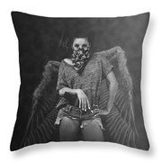 Derangel Throw Pillow
