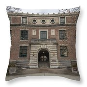 Derby Hall Osu Throw Pillow