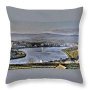Derry View Throw Pillow