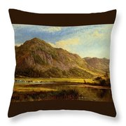 Derwent Water Cumberland Throw Pillow