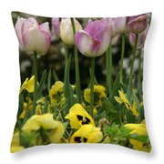 Descanso Gardens 2 Throw Pillow
