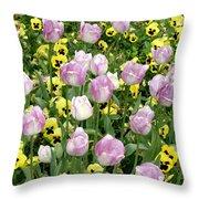 Descanso Gardens 3 Throw Pillow