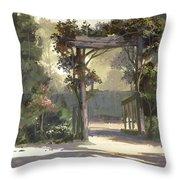 Descanso Gardens Throw Pillow