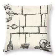 Descarges Electriques Dan Lai Rarefie Throw Pillow by French School