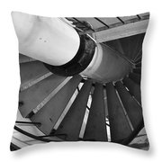 Descend Throw Pillow by Luke Moore