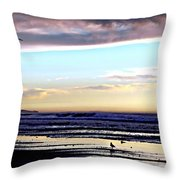 Descendants As Many As The Sand On The Shore Of The Sea Throw Pillow