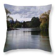 Deschutes River - Oregon Throw Pillow