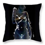 Desdemona - The Battle Scars Of Love Throw Pillow by Jaeda DeWalt