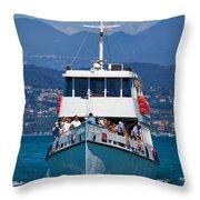 Desenzano. Lago Di Garda Throw Pillow