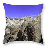 Desert Bolders Throw Pillow