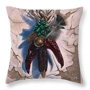 Desert Bow Throw Pillow
