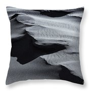 Desert Contours Throw Pillow by Mike  Dawson