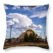 Desert Dome Throw Pillow