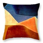 Desert Dunes Number 2 Throw Pillow