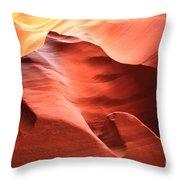 Desert Flames Throw Pillow