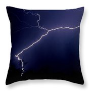 Desert In The Dark Throw Pillow