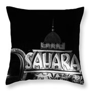 Desert In The Desert Throw Pillow