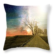 Desert Kingdom  Throw Pillow