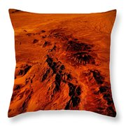 Desert Of Arizona Throw Pillow