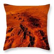 Desert Of Arizona Throw Pillow