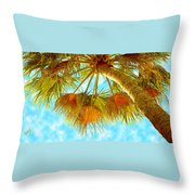 Desert Palm Throw Pillow