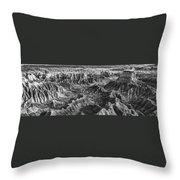 Desert Panorama Throw Pillow