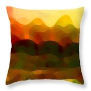 Desert Pattern 5 Throw Pillow