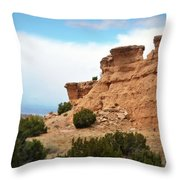 Desert Peaks Throw Pillow