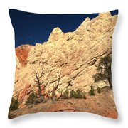 Desert Salad Throw Pillow