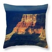 Desert View Grand Canyon 2 Throw Pillow